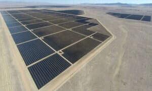 Największa instalacja paneli słonecznych została uruchomiona