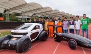 Wydrukowany w 3D samochód wyścigowy zasilany energią słoneczną