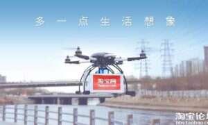 W Chinach – dron dostarczy Ci herbatę pod same drzwi