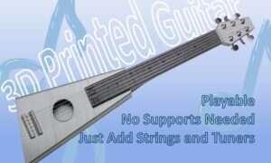 Wydrukujcie sobie w pełni funkcjonalną gitarę już dzisiaj
