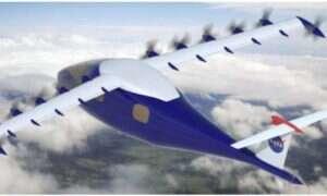 LEAPTech – futurystyczny samolot od NASA