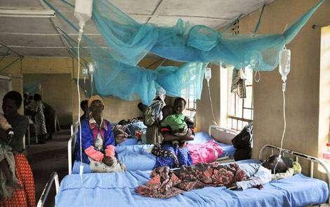 malaria-hospital-bed-nets