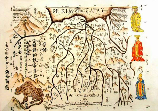 michal boym mapa