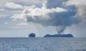 Rzut okiem na nową wyspę Oceanu Spokojnego