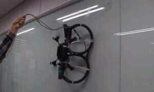 Drony zyskają umiejętność wspinaczki po ścianach