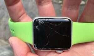 Rekordzista jedynie przez dwie godziny nacieszył się nowym Apple Watch