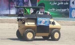 Iran prezentuje Nazira – bezzałogowy pojazd z niespodzianką