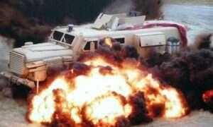 RDECOM pracuje nad manekinem do badań eksplozji militarnych pojazdów