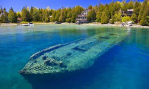 Jezioro Michigan: Woda tak czysta, że wraki statków widać z lotu ptaka
