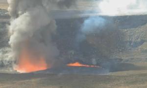 Hawajski wulkan Kilauea przepełnia się lawą