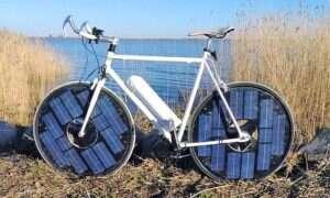 Rower zasilany energią słoneczną przejedzie ponad 60 kilometrów