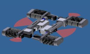 Roboty pomogą w usuwaniu samochodów-pułapek