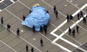 Przetransportował dronem nad biuro premiera Japonii radioaktywny piasek!