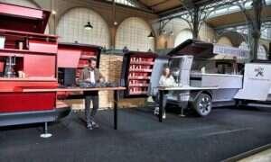 Peugeot przedstawia restaurację na kółkach dla 30 osób
