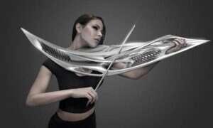 Oto wydrukowane w 3D futurystyczne skrzypce