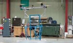 Dron potrafiący podnieść osobę
