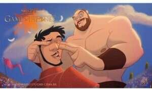Zobacz, jak wyglądają Disneyowskie odpowiedniki postaci z serialu Gra o Tron