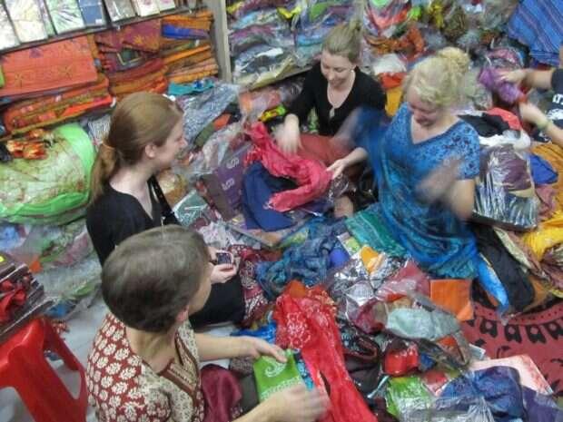 Scarf shop sept 18 and arrival in Delhi sept 19 006