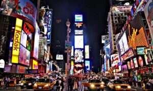 Federalni chcą pozbyć się billboardów na Times Square