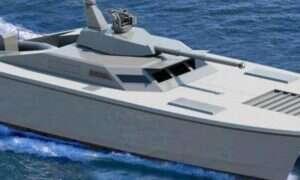 Lekka łódka zamieni się w niebezpieczną jednostkę dzięki wieżyczce czołgowej