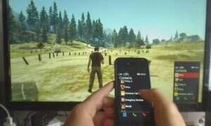 Kontroluj telefon bohatera GTA V przy pomocy własnej komórki