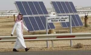 """Arabia Saudyjska chce przestawić się na """"zieloną"""" energię"""