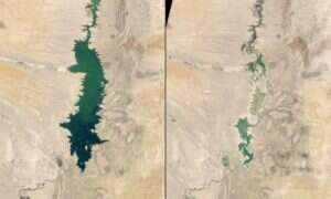 """Zdjęcia """"przed i po"""" dosadnie ukazujące jak niszczymy naszą planetę"""