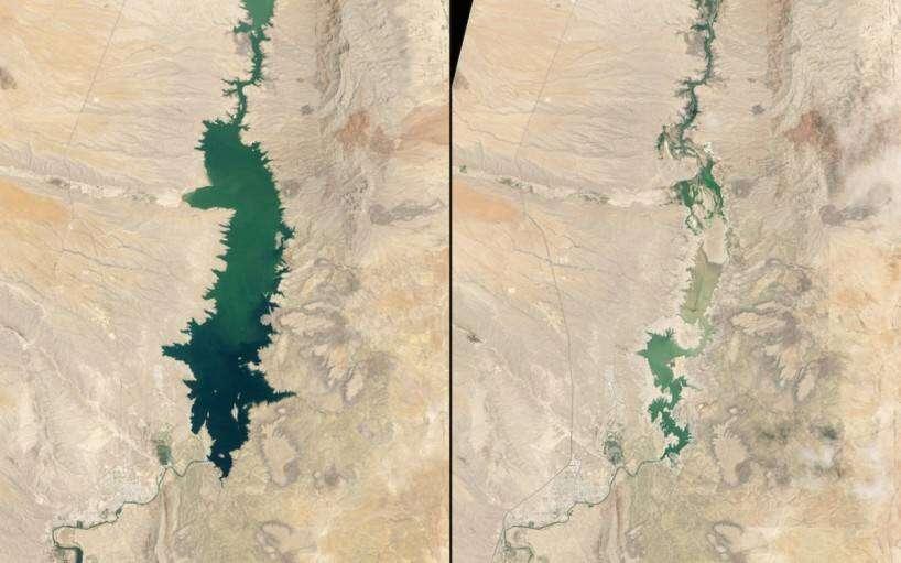 shrinking-elephant-butte-reservoir-new-mexico-1994-vs-2013