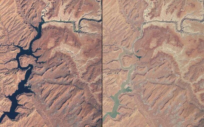 shrinking-rivers-in-arizona-and-utah-march-1999-vs-may-2014