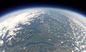 NASA nagrywa tajemnicze dźwięki w stratosferze, 36 kilometrów nad Ziemią