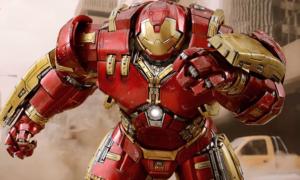 Chińczyk zbudował w garażu trzymetrowego Hulkbustera z Avengers: Age of Ultron