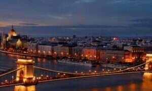 Dwie godziny burzy zamieniły Budapeszt w elektryzujące miasto