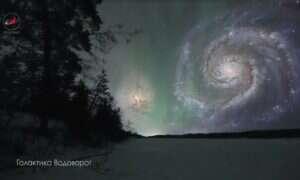 Tak właśnie wyglądałoby niebo gdyby niektóre kosmiczne obiekty były bliżej Ziemi
