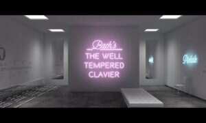 CGI: Artysta tworzy świetlny show przy dźwiękach muzyki klasycznej