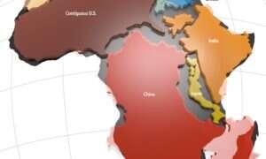 """Afryka jest większa niż myślimy – złudzenie """"płaskiej"""" mapy"""