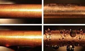 Grafen zwiększa wydajność kondenserów skraplających parę