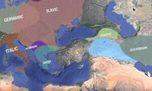 Ciekawa animacja, ukazująca etapy rozwoju indoeuropejskich grup językowych
