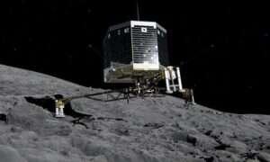 Sonda Philae, będąca częścią misji Rosetta, obudzona przez Słońce