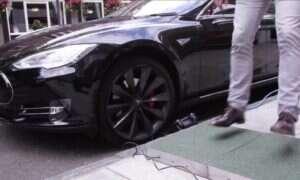 Już niedługo: Ładowanie elektrycznego samochodu za pomocą ludzkich kroków