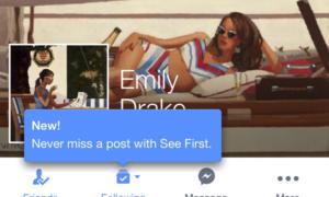 "Nowy sposób na ogarnięcie tablicy na Facebooku – funkcja ""See first"""