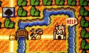 Przez sześć lat tworzył jedną z map Super Mario Bros 3. Dziergał ją szydełkiem.