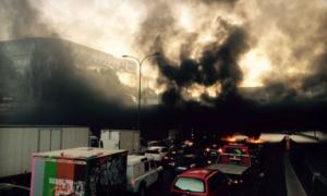 Kontynuacja zamieszek w Paryżu: Francuscy taksówkarze demonstrują przeciw UberPOP
