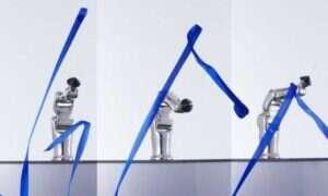 Robot naśladujący gimnastykę artystyczną