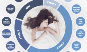 Infografika: Ludzki sen. Do czego jest nam potrzebny i co się na niego składa?