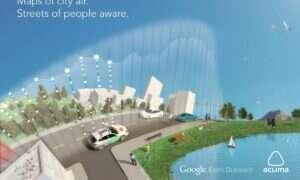 Google Street View zbada jakość powietrza