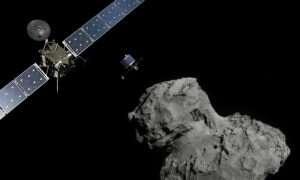 Na komecie 67P mogą znajdować się obce formy życia