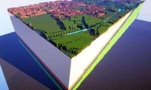 Prawdziwe mapy geologiczne Wielkiej Brytanii teraz w Minecrafcie