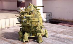 Drukowany czołg HMS Boudicca – jakie dziecko nie chciałoby się nim pobawić?