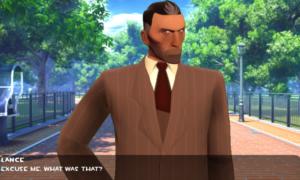 Symulator randki inspirowany Team Fortress 2