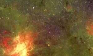 Jak wyglądałby kosmos podczas przelotu Mleczną Drogą?